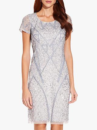 Adrianna Papell Beaded Dress, Cloud