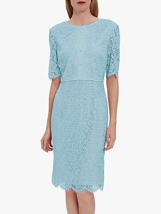 Gina Bacconi Gabby Bodice Lace Dress