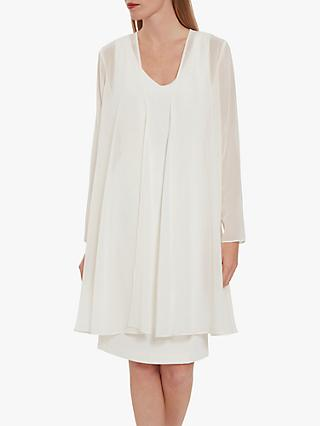 Gina Bacconi Long Chiffon Jacket