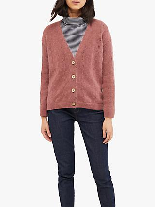 White Stuff Oak Pointelle Cardi