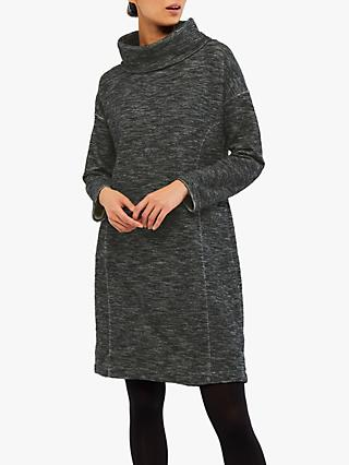 White Stuff Fleck It Out Dress, Charcoal