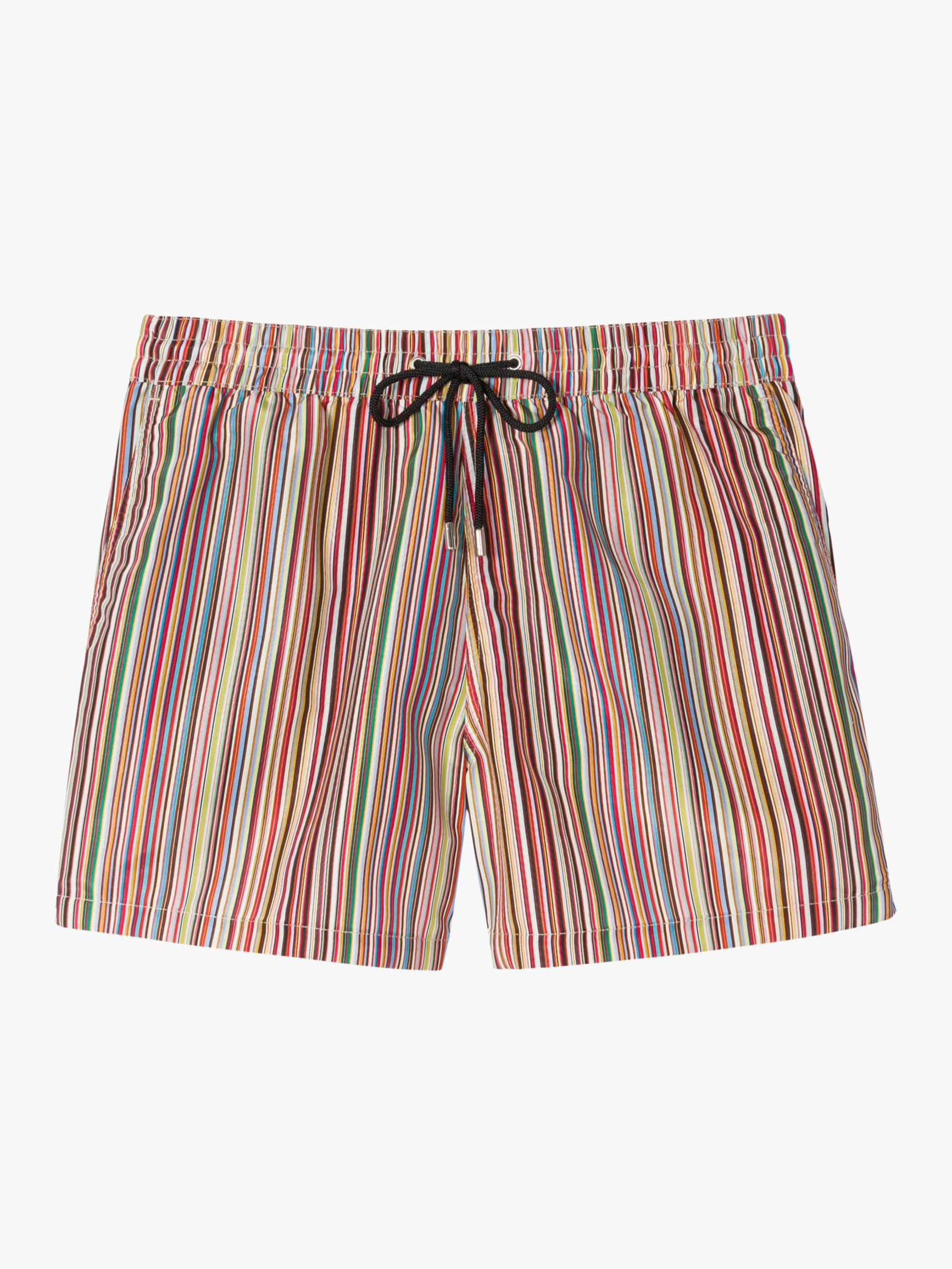 Paul Smith PS Paul Smith Striped Recycled Poly Swim Shorts, Multi