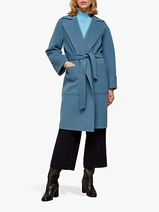 Whistles Double Faced Wrap Coat