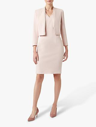 Hobbs Frida Jacket, Pale Pink