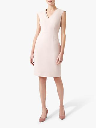 Hobbs Frida Dress, Pale Pink