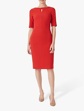 Hobbs Maura Dress, Red