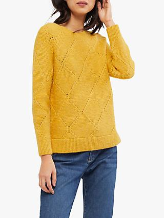 White Stuff Pointelle Jumper