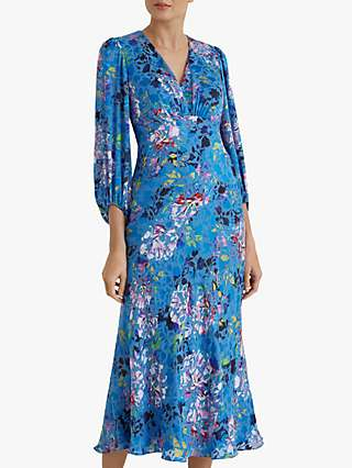 Fenn Wright Manson Maelle Floral Dress, Peony/Multi