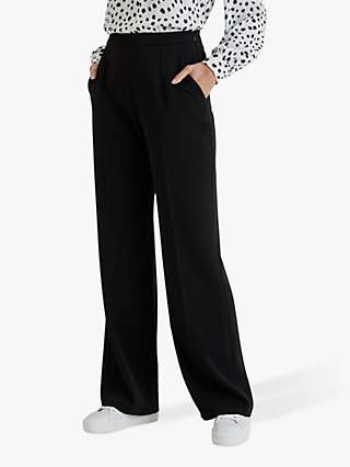 Fenn Wright Manson Salome Wide Leg Trousers, Black