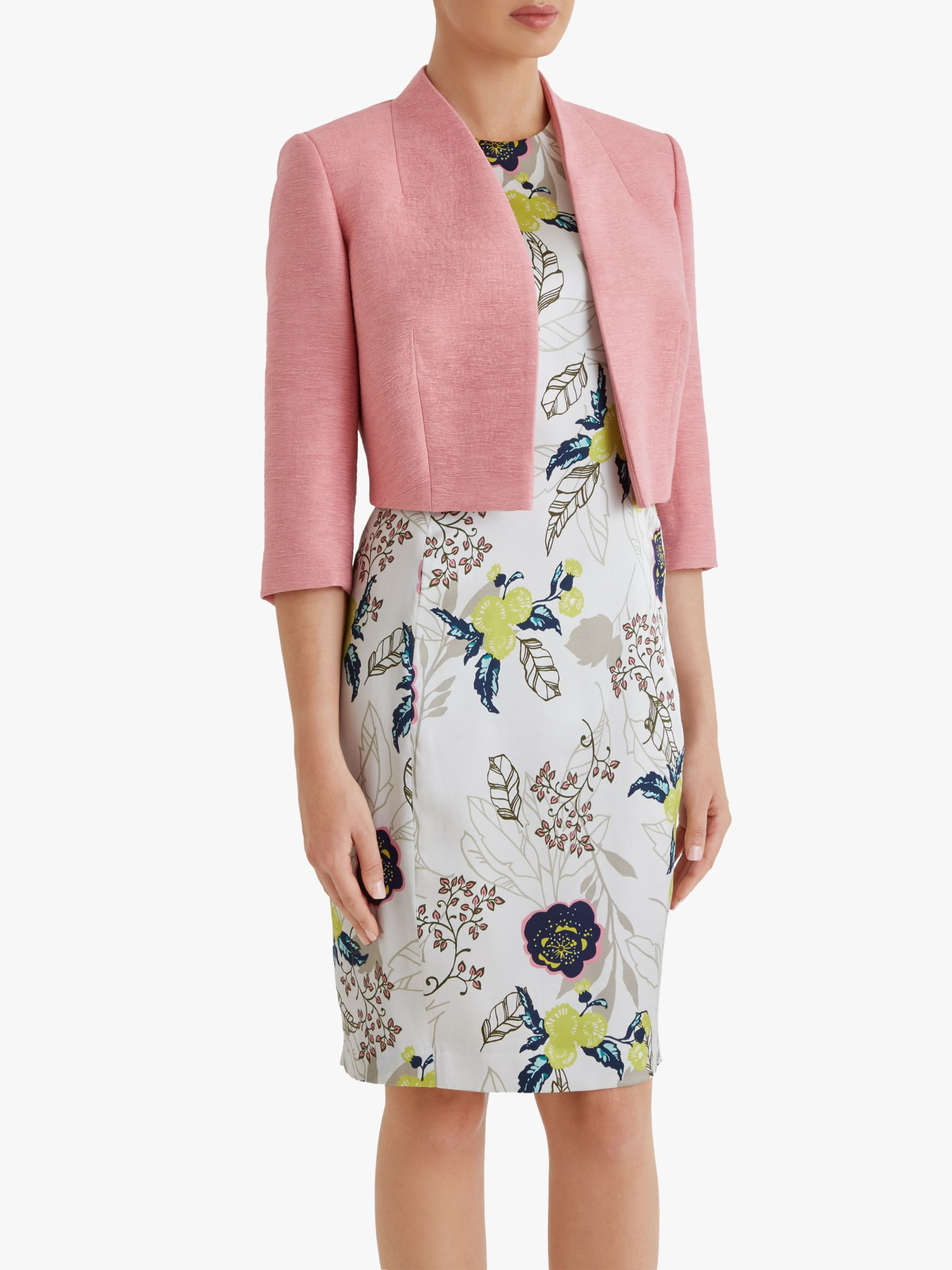 Fenn Wright Manson Fenn Wright Manson Petite Caterine Cropped Tailored Jacket, Coral