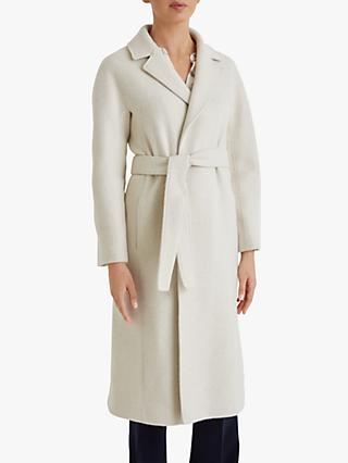 Fenn Wright Manson Petite Armel Long Belted Coat, Champagne