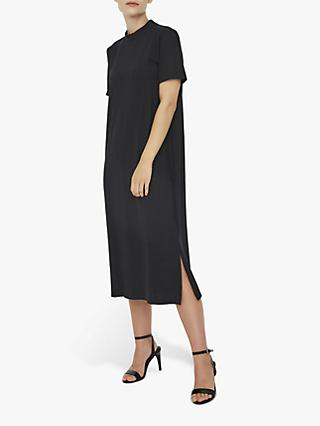 AWARE BY VERO MODA Calf Midi Dress, Black
