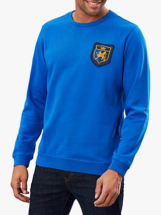 Joules Dartmouth Crest Badge Crew Sweatshirt