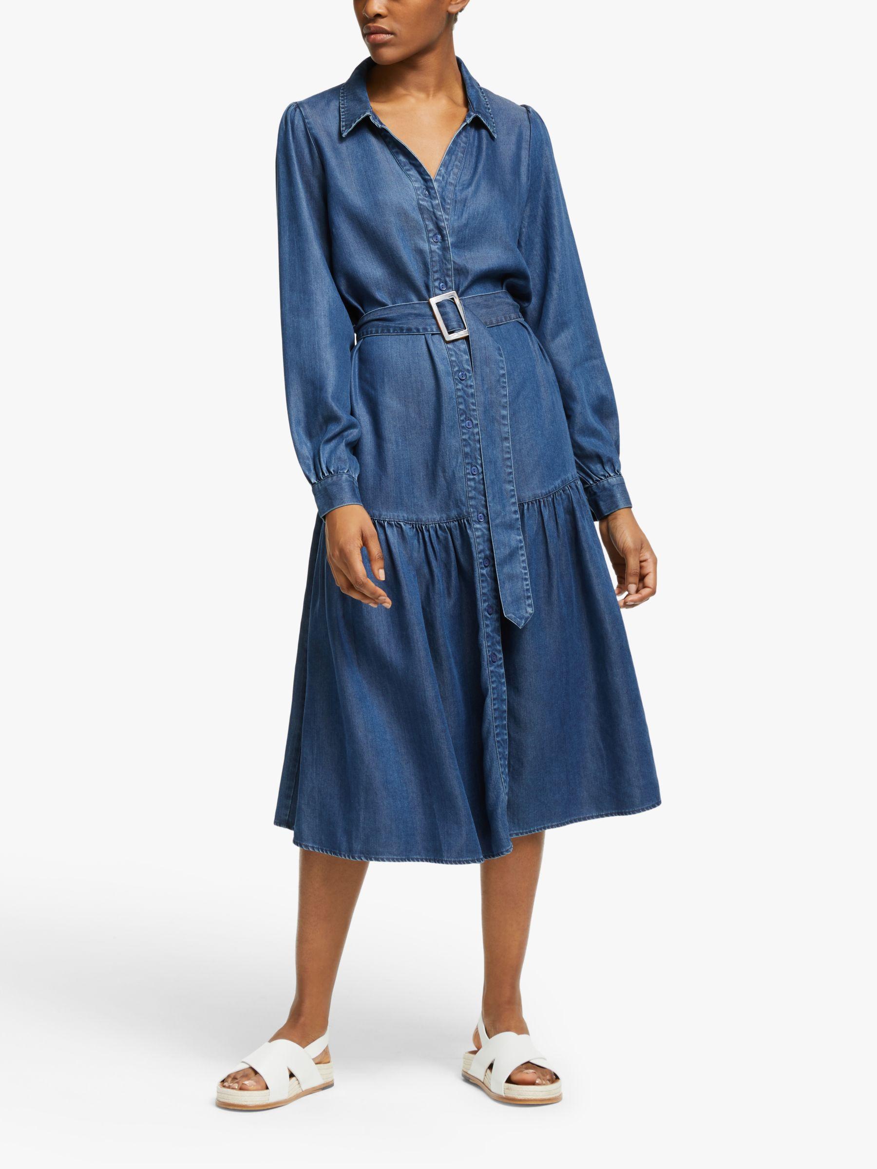 Just Female Just Female Cas Dress, Blue