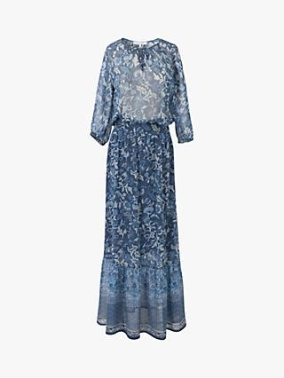 Gerard Darel Saly Silk Blend Maxi Dress
