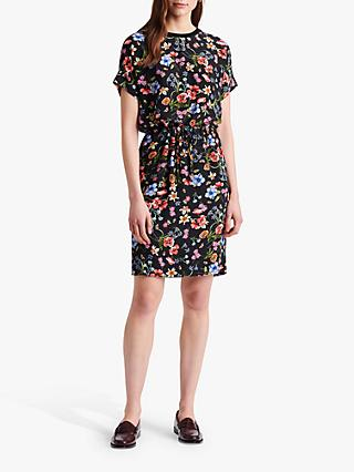 Gerard Darel Stacy Floral Dress, Black