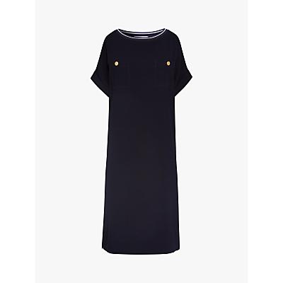 Gerard Darel Savina Button Detail Dress, Navy