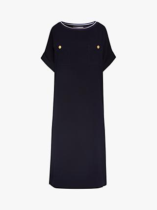 Gerard Darel Savina Button Detail Dress, Navy