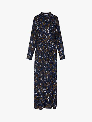 Gerard Darel Selia Tunic Style Shirt Dress, Blue