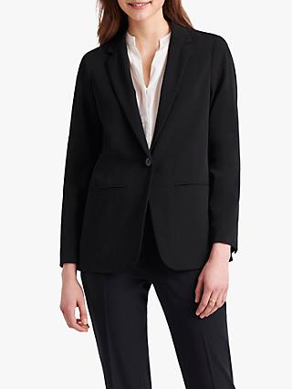 Gerard Darel Alessa Single Breasted Blazer, Navy