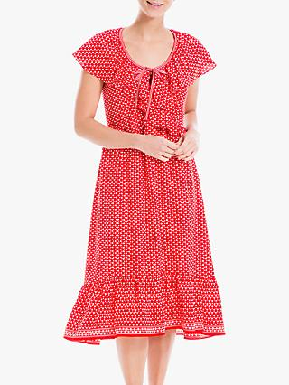 Max Studio Spot Print Midi Dress, Scarlett