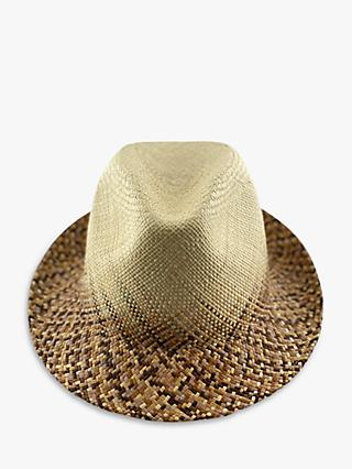 Christys' Woven Summer Panama Hat, Neutral/Multi