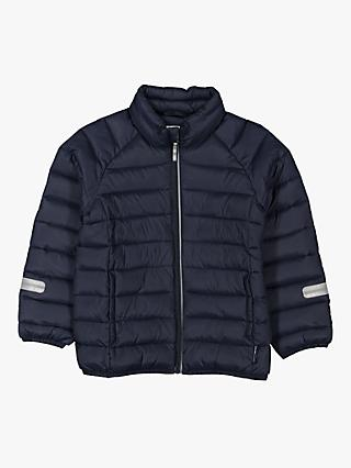 Polarn O. Pyret Children's Water Resistant Puffer Jacket