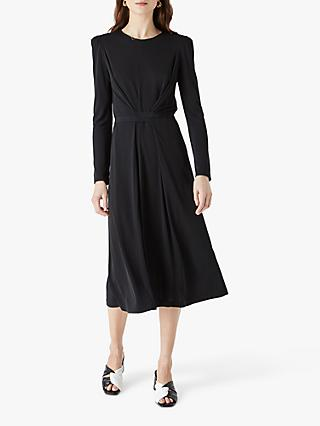 Finery Orla Midi Dress, Black