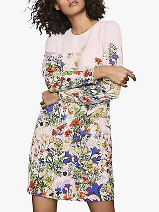 Reiss Agatha Lady Bird Dress, Multi