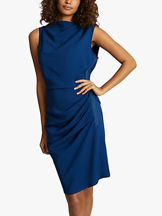 Reiss Bali Ruched Bodycon Dress