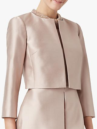 Hobbs Christie Silk and Wool Blend Jacket