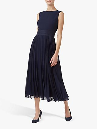 Hobbs Bridgette Dress, Midnight Blue
