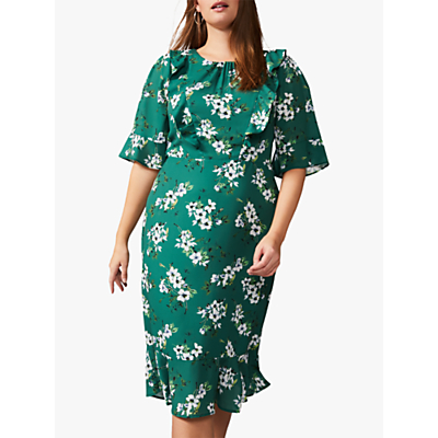 Product photo of Studio 8 brielle floral dress green multi