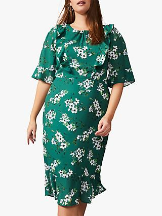Studio 8 Brielle Floral Dress, Green/Multi