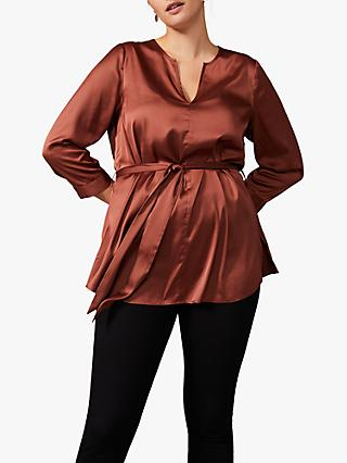 Studio 8 Zana Tie Top, Walnut