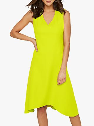 Damsel in a Dress Camilla V-Neck Sleeveless Dress, Lime