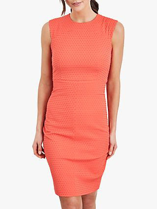 Damsel in a Dress Romano Textured Dress, Orange