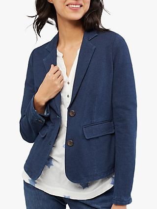 White Stuff Driffiled Jersey Blazer, Denim