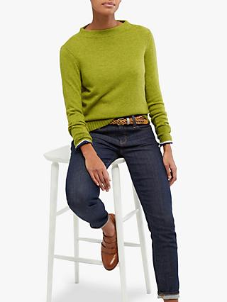 White Stuff Sunny Wool Blend Jumper, Green