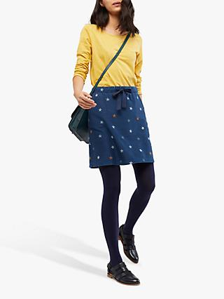 White Stuff Chance of Showers Skirt, Denim