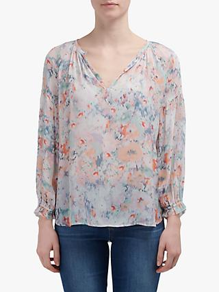 Velvet by Graham & Spencer Blouse, Watercolour