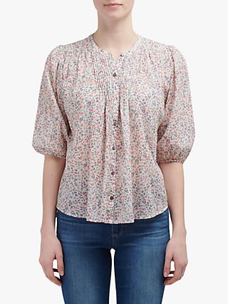 Velvet by Graham & Spencer Voile Blouse, Poppy