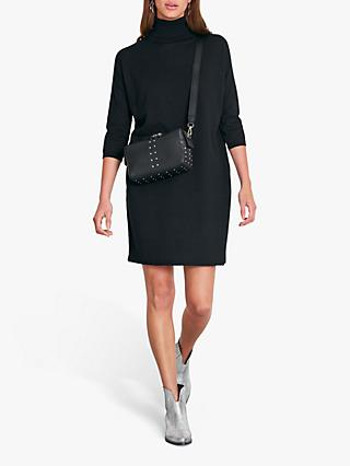 hush Annika Knitted Dress, Black