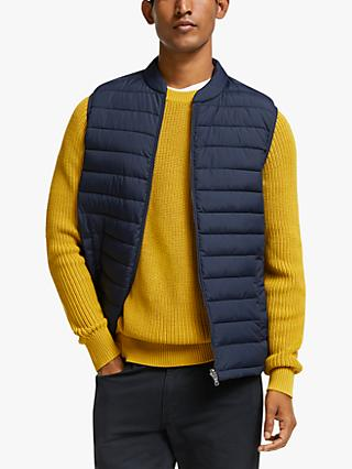 John Lewis & Partners Shower Resistant Recycled Quilted Puffer Gilet