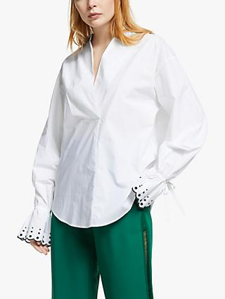 See By Chloé Embroidered Shirt, White