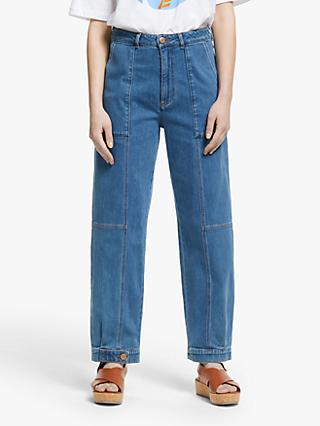 See By Chloé Fashion Denim Jeans, Truly Navy