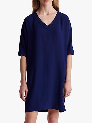 Gerard Darel Siria V-Neck Shift Dress, Blue