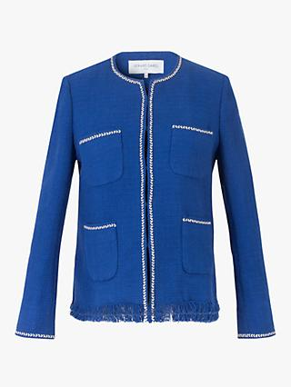 Gerard Darel Alessandra Cotton Jacket, Blue