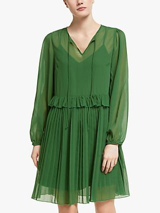 Y.A.S Esher Print Midi Dress, Greener Pastures