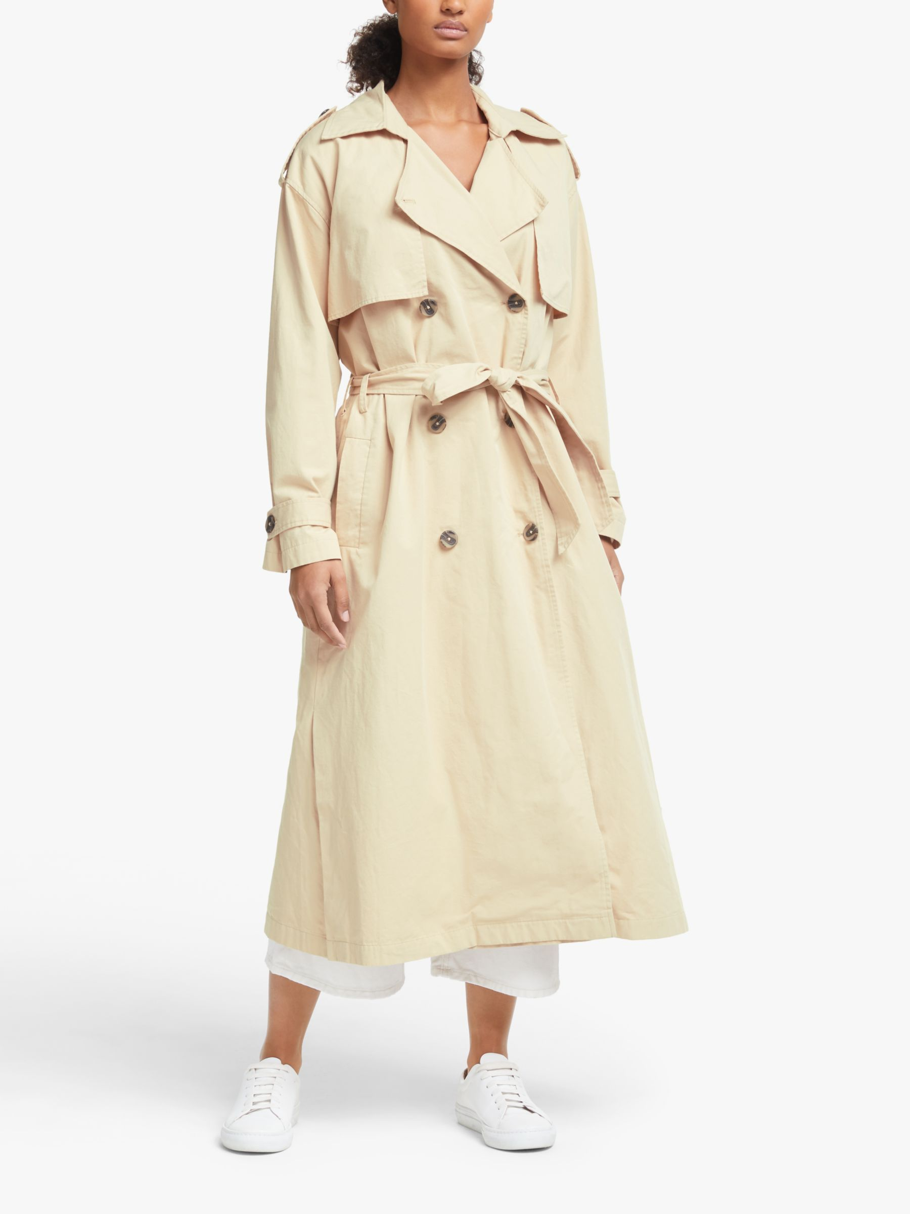 Y.a.s Y.A.S Yasshilee Trench Coat, Pebble